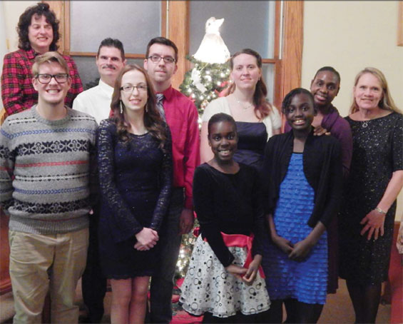 Presbyterian Church in Espyville presented the Christmas Eve Service 2015, with ensemble members