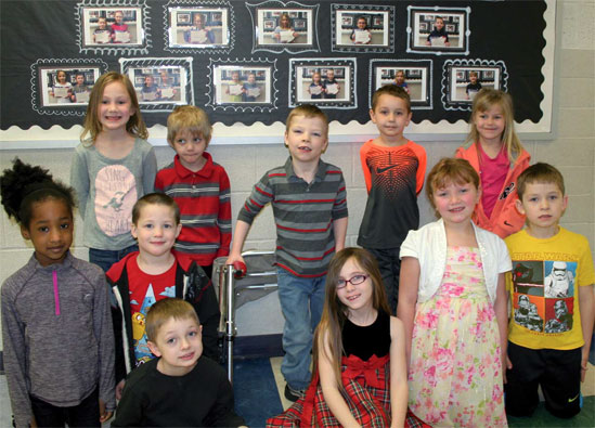 NOVEMBER STUDENTS OF NOTE at Conneaut Valley Elementary School